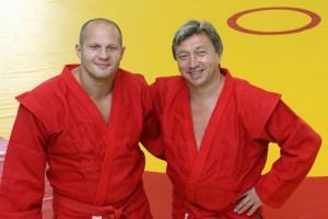 Федор Емельяненко и Ренат Лайшев