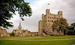 Рочестерский замок, графство Кент