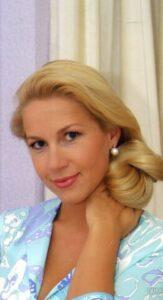 Телеведущая, журналист Екатерина Одинцова.