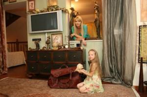 Певица Варвара с дочкой
