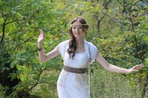 Заслуженная артистка Карачаево-Черкесской Республики певица Яна Лысенко
