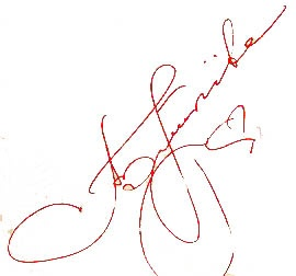 Автограф Аллы Пугачевой