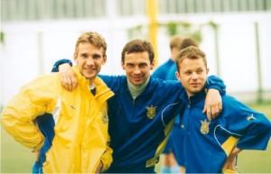 Андрей Шевченко, Владислав Ващук, Дмитрий Парфенов