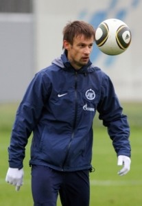 Футболист Сергей Семак