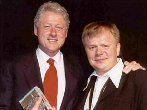 Билл Клинтон и Игорь Бутман
