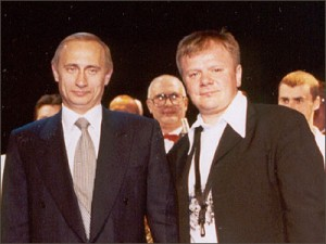Владимир Путин и Игорь Бутман