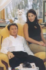 Гимнастка Елена Витриченко с мужем