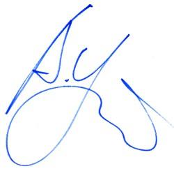 Автограф Аргкадия Укупника