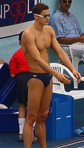 Пловец Александр Попов