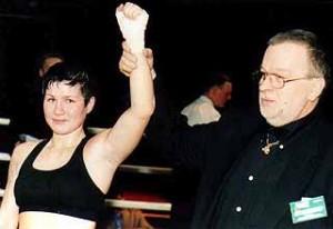 Анастасия Токтаулова, бокс