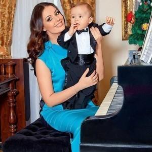 Оксана Федорова с сыном. Православие, вера в Бога, благотворительность, помощь детям, семьям