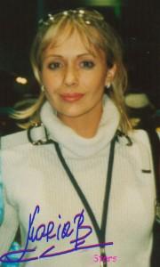 Автограф фигуристки Марии Бутырской, спорт, здоровье