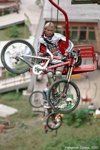 Велогонщик Денис Кузьменко