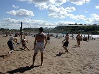 Игра на пляже