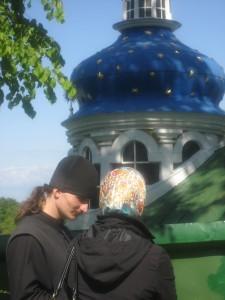 Наталья Ольховская в Псково-Печерском монастыре