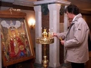 Сергей Захаров в Православном храме