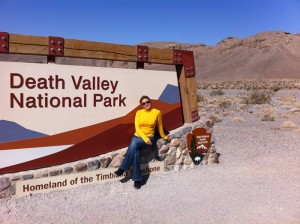 Елена Уитман. Death Valley, USA