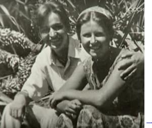Евгений Крылатов с супругой Севиль