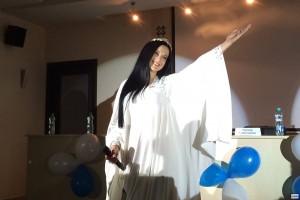 Певица Евгения Лагуна, благотворительный концерт, Санкт-Петербург, дети-сироты, Дидье Маруани