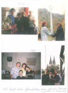 Фото встреч в разные годы. Наталья Ольховская и Гизела