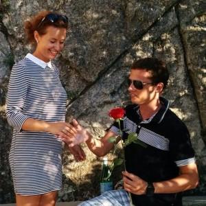 Наталья Русинова с мужем