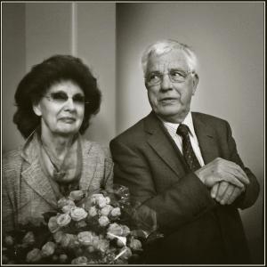 Раймонд Паулс с супругой Светланой