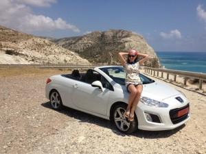 Наталья Русинова, машина, автомобиль