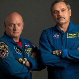 Экипаж «МКС» - Космонавты Скотт Келли и Михаил Корниенко