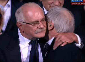 Никита Михалков и Эдуард Артемьев.