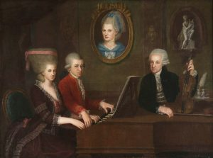 Моцарт с семьей