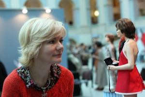 Наталья Гусева и кукла Алиса