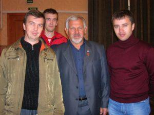 Встреча с В.Г. Ждановым
