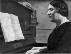 Певица О. В. Ковалева
