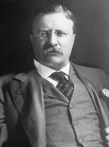 26-ой президент Америки Теодор Рузвельт