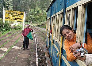Поезд, Индия