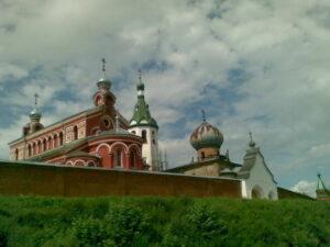 Храм святителя Иоанна Златоуста в Старой Ладоге.