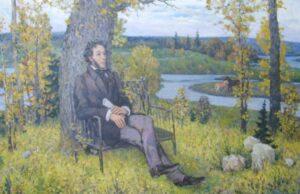 Пушкин в деревне