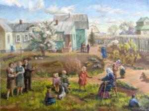 В деревне у бабушки