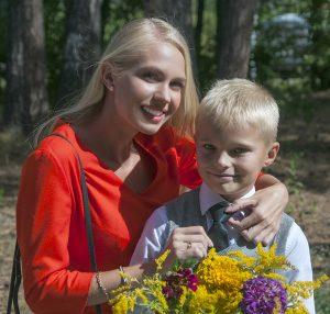 Певица Даня (DANYA) с сыном
