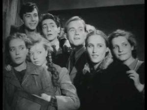 """Кадр из фильма """"Молодая гвардия"""" 1948 год"""