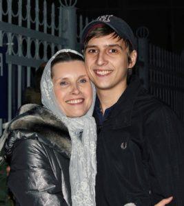 Светлана Копылова с сыном Дмитрием