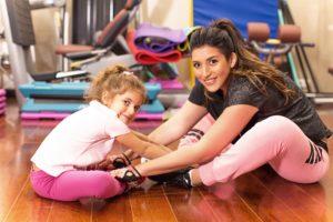 Певица Жасмин с дочкой Маргаритой, занятия спортом, интервью