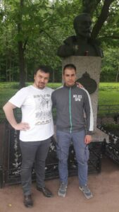 Вадим Грачев и Милош Бороцкий
