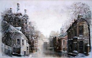 Четвертая зима. Эссе о Москве, Максим Васюнов