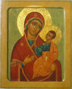 Иверская икона Божьей Матери.