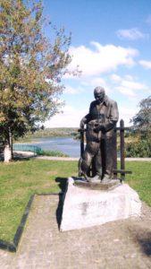 Памятник Константину Паустовскому