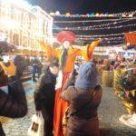 Москва. Новогодняя ярмарка