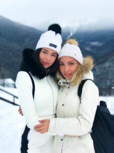 София Никитчук отметила новогодние праздники с семьёй