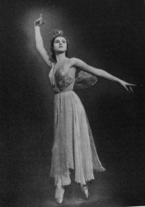 Балерина Алла Осипенко
