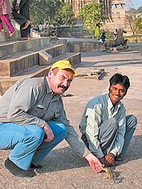 Путешественник, журналист Андрей Приписнов, Индия